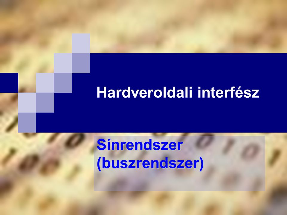 Hardveroldali interfész