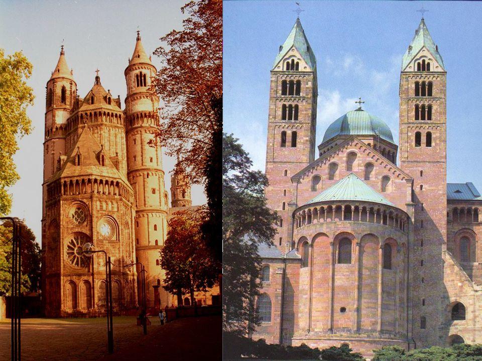 A középkor építészete: Román stílus