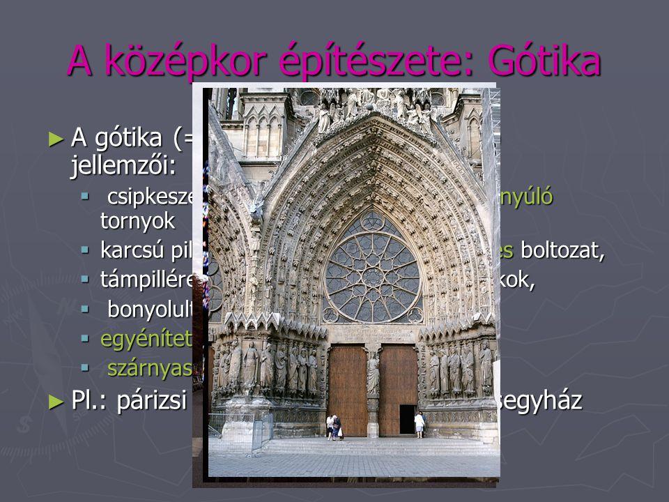 A középkor építészete: Gótika