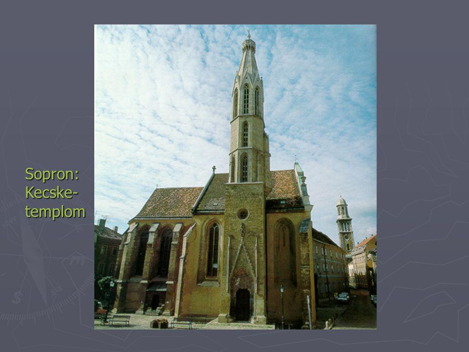 Sopron: Kecske-templom