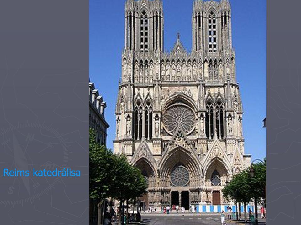 Reims katedrálisa