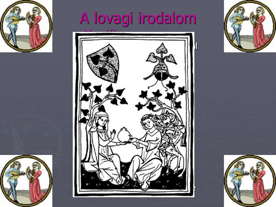 A lovagi irodalom Mondák: Lovagi eposzok: Lovagregények: