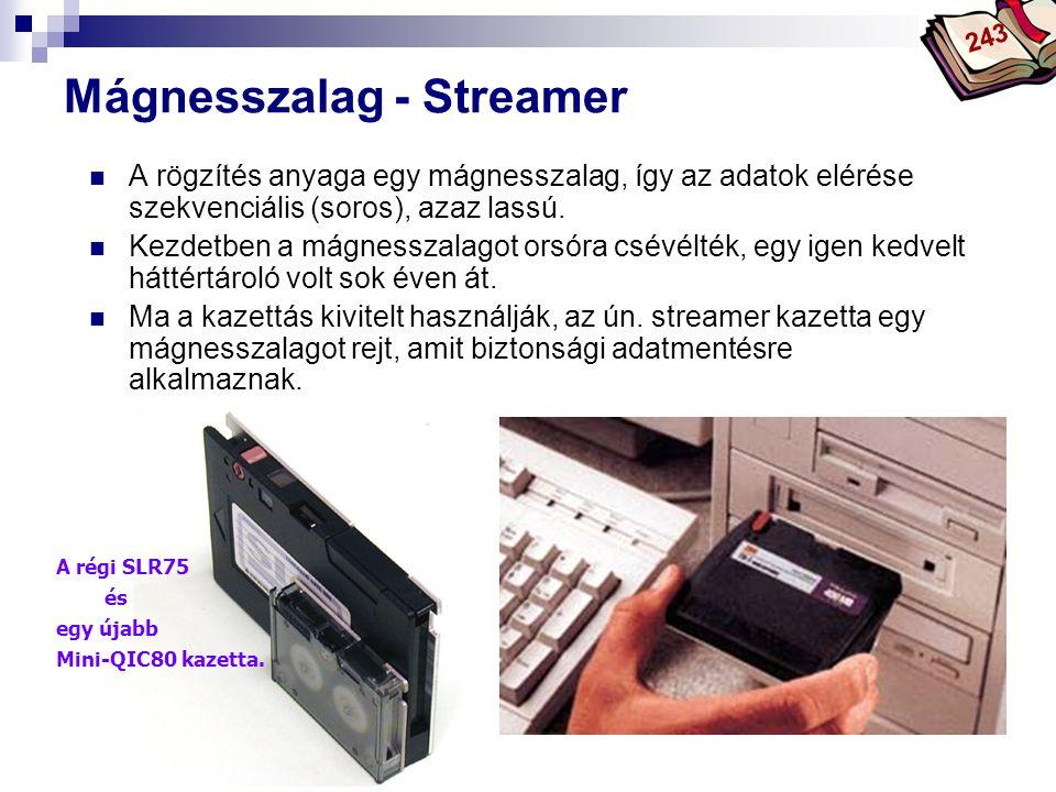 Mágnesszalag - Streamer