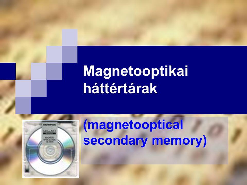 Magnetooptikai háttértárak