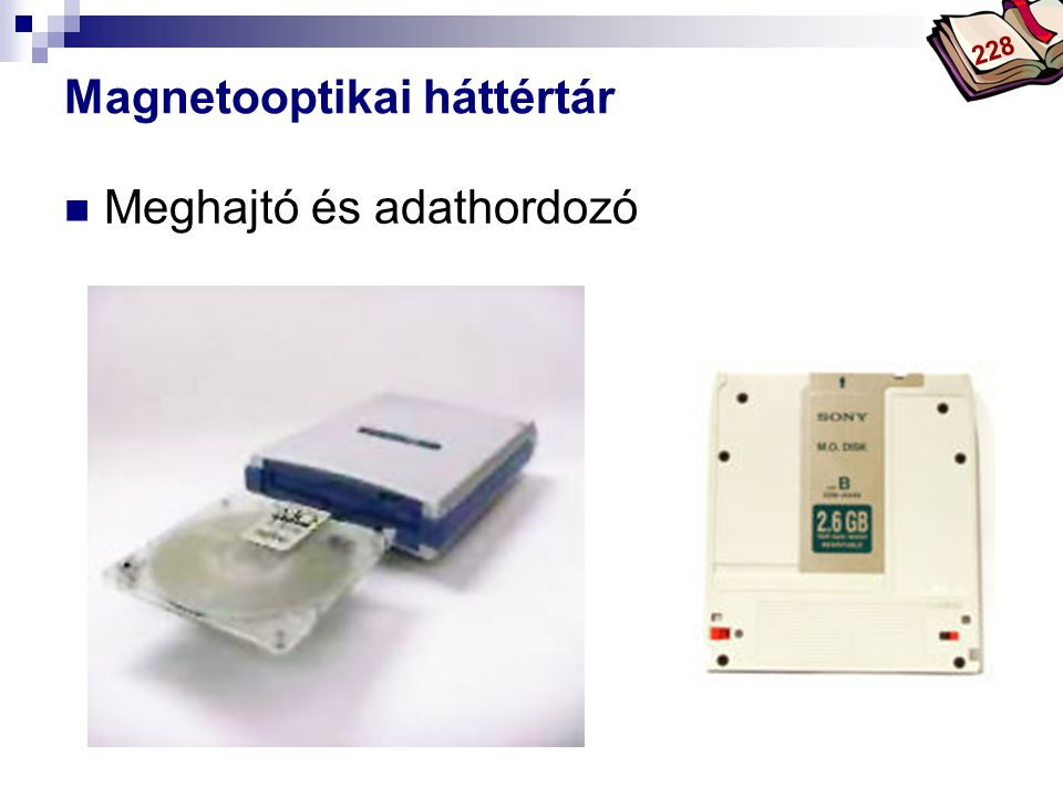 Magnetooptikai háttértár