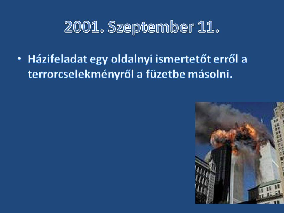 2001. Szeptember 11.