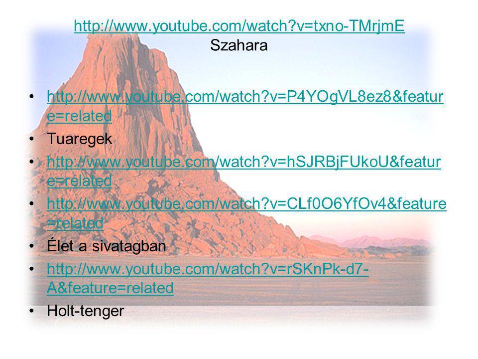 http://www.youtube.com/watch v=txno-TMrjmE Szahara