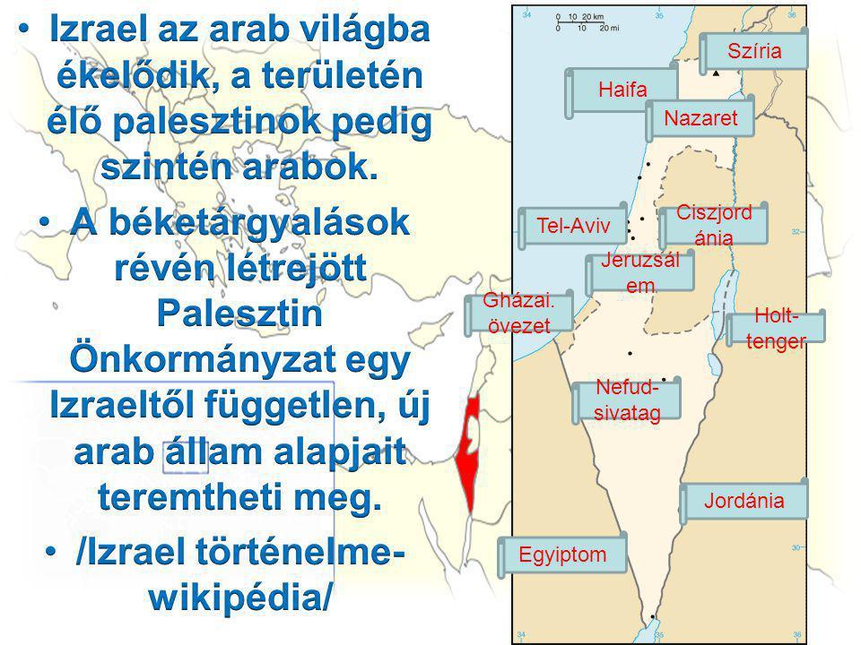 /Izrael történelme- wikipédia/