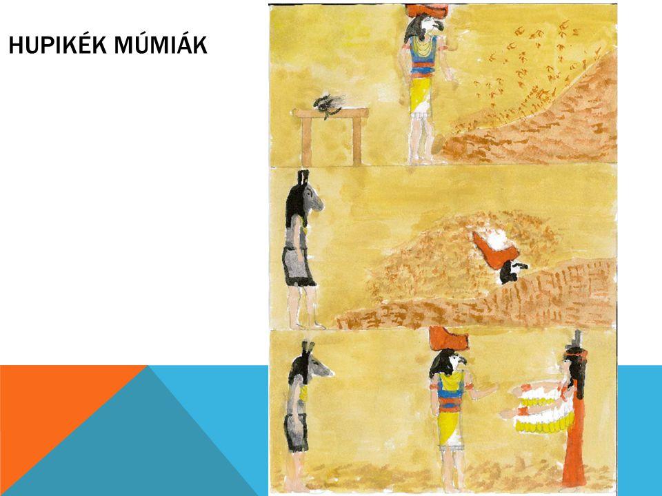Hupikék múmiák