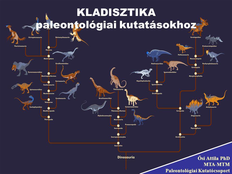 paleontológiai kutatásokhoz