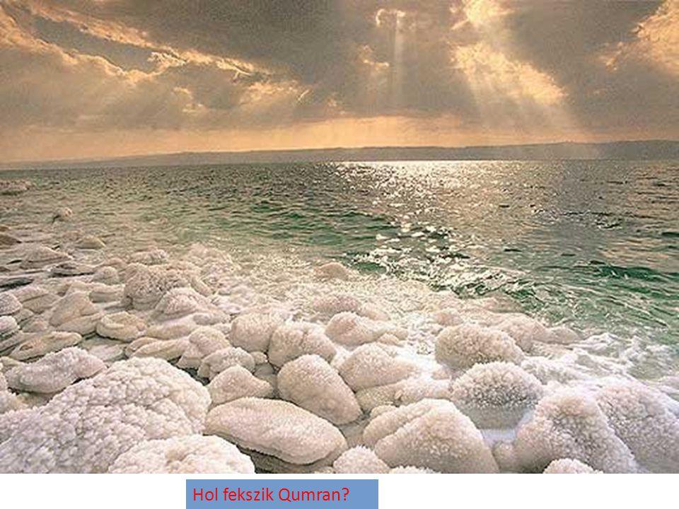 Hol fekszik Qumran