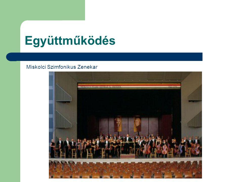 Együttműködés Miskolci Szimfonikus Zenekar