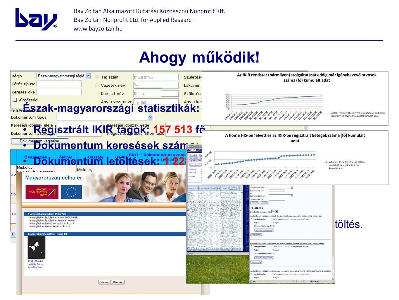 Ahogy működik! Észak-magyarországi statisztikák: