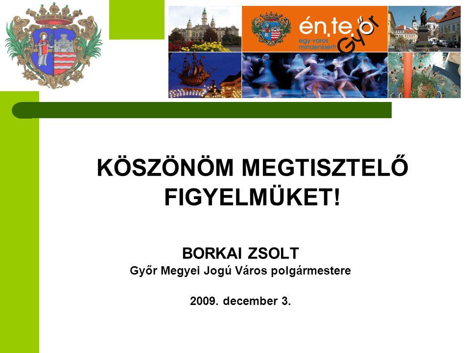 Győr Megyei Jogú Város polgármestere