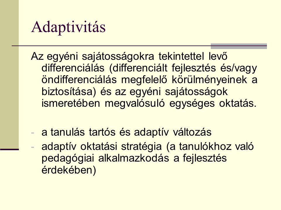 Adaptivitás