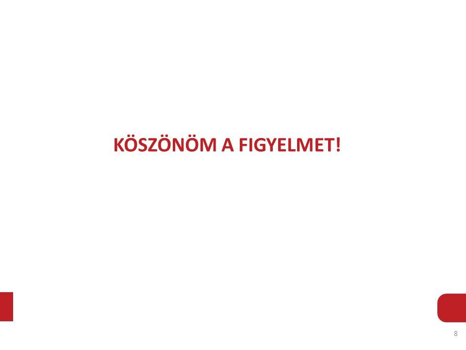 KÖSZÖNÖM A FIGYELMET! 8
