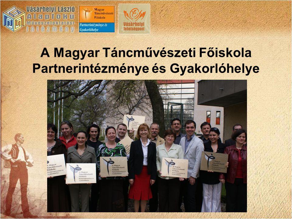 A Magyar Táncművészeti Főiskola Partnerintézménye és Gyakorlóhelye