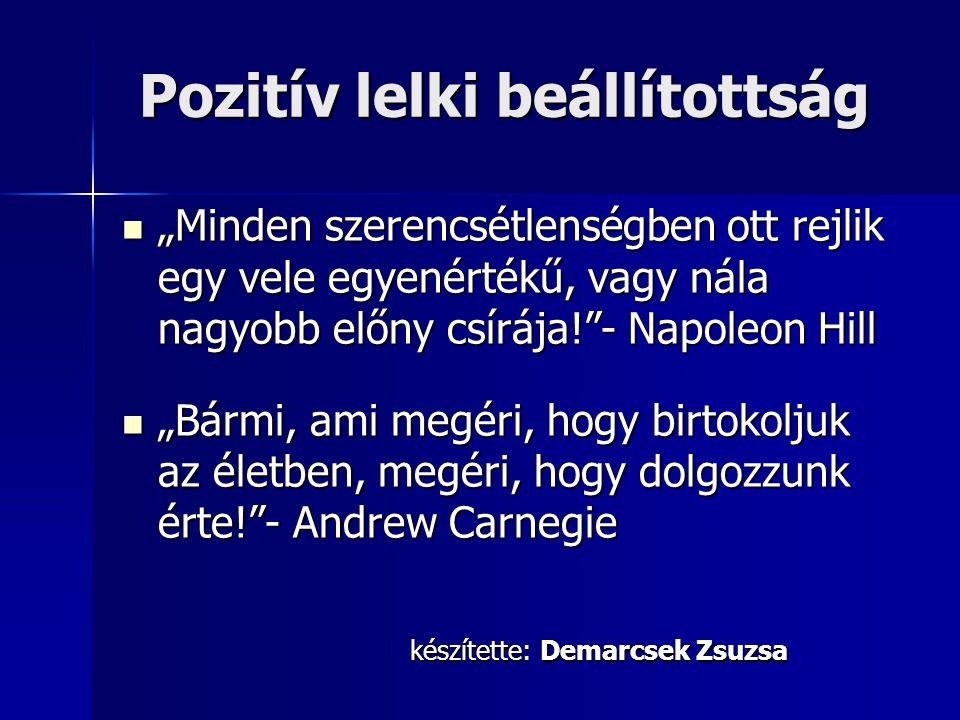 Pozitív lelki beállítottság