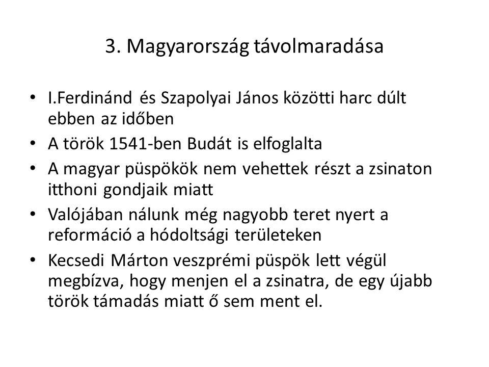 3. Magyarország távolmaradása
