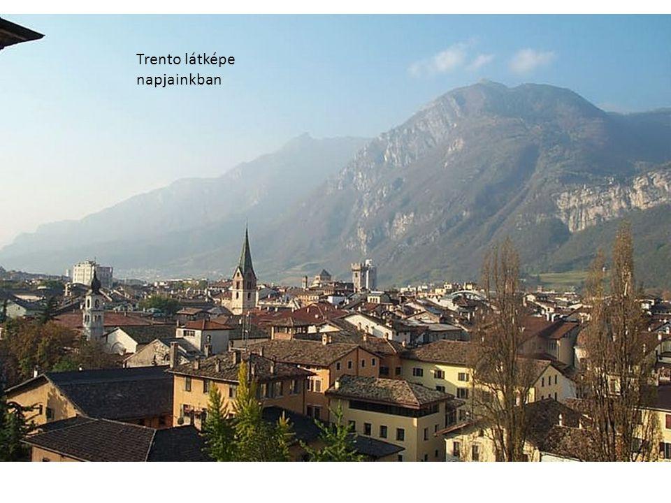 Trento látképe napjainkban