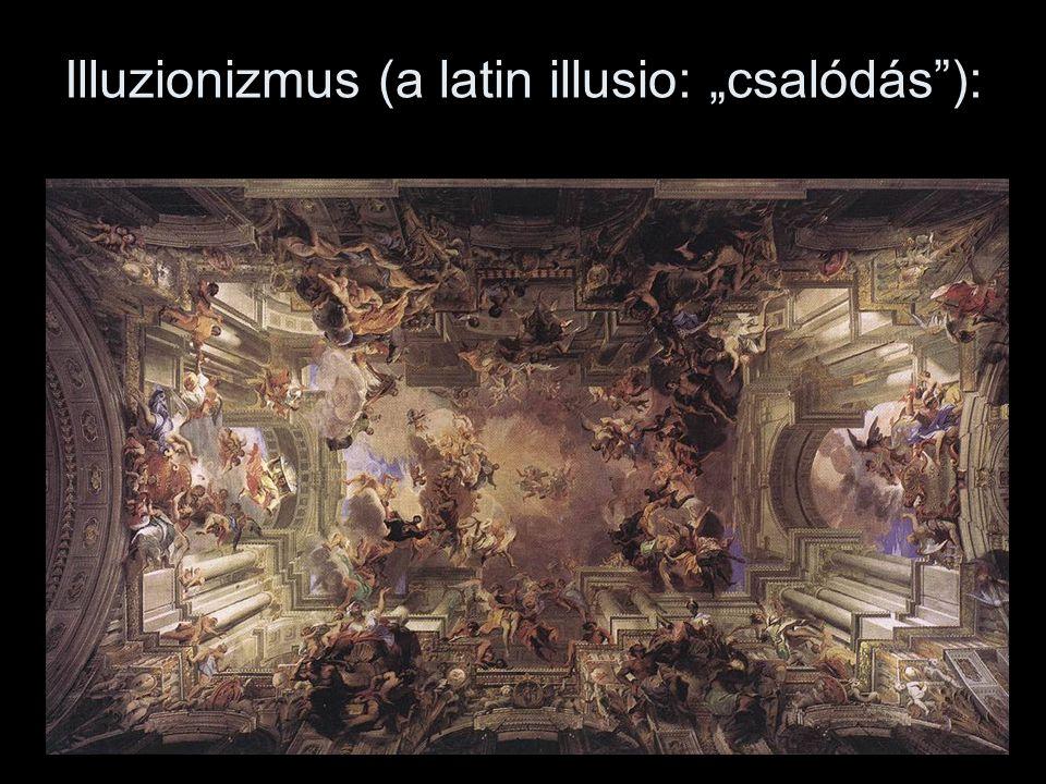 """Illuzionizmus (a latin illusio: """"csalódás ):"""