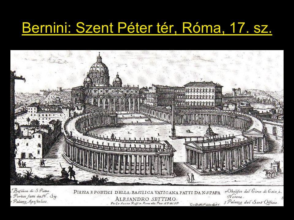 Bernini: Szent Péter tér, Róma, 17. sz.