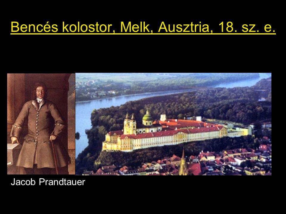 Bencés kolostor, Melk, Ausztria, 18. sz. e.