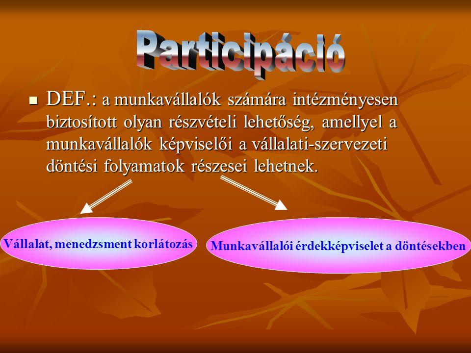 Participáció
