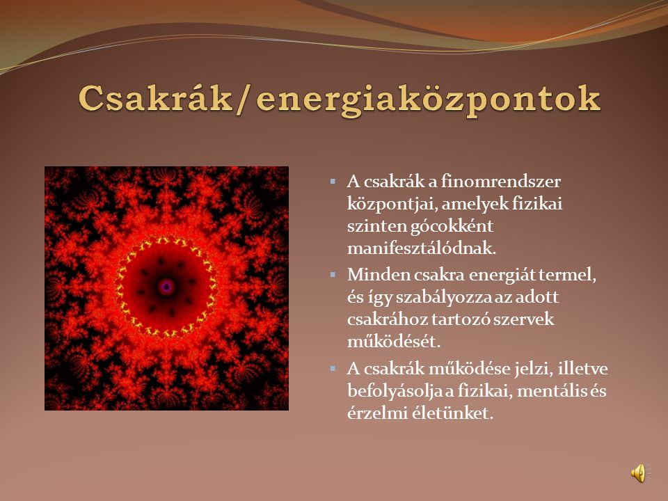 Csakrák/energiaközpontok