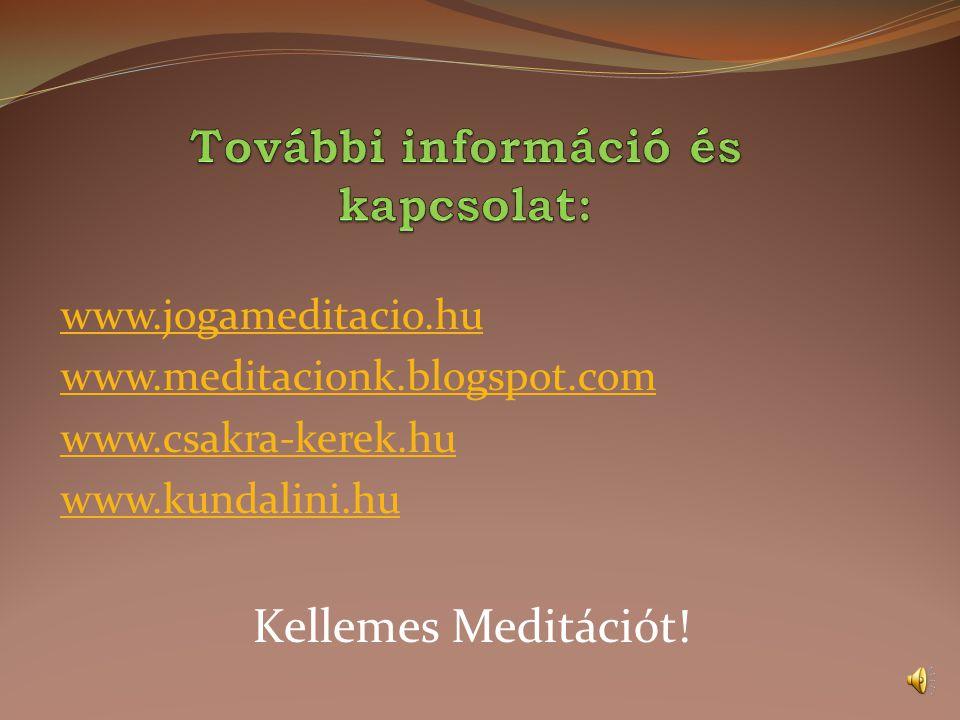 További információ és kapcsolat: