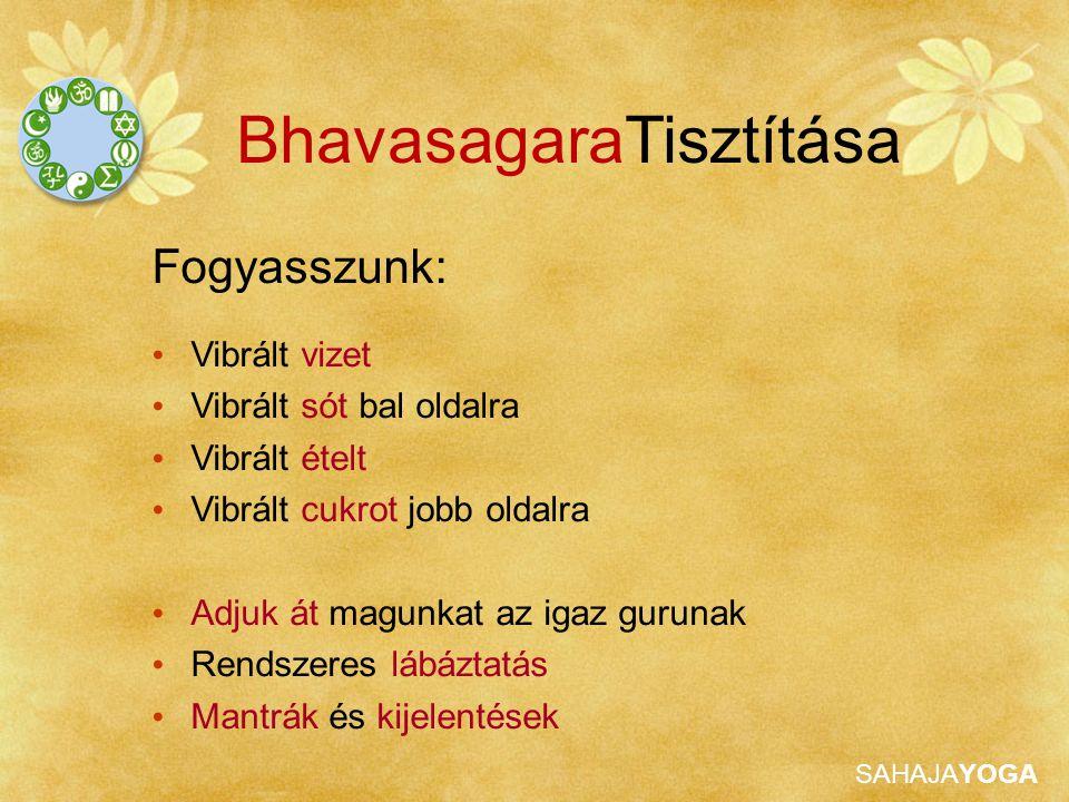 BhavasagaraTisztítása