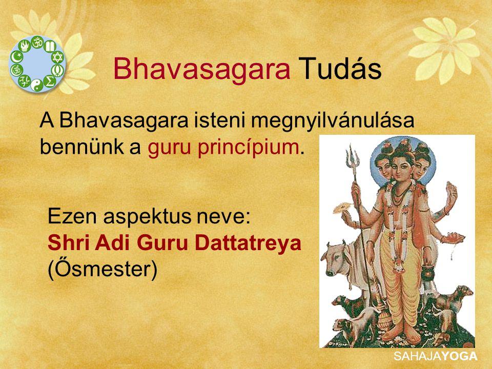 Bhavasagara Tudás A Bhavasagara isteni megnyilvánulása bennünk a guru princípium. Ezen aspektus neve: