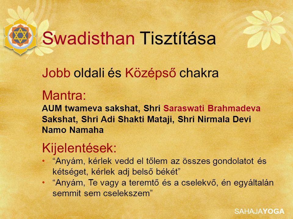 Swadisthan Tisztítása