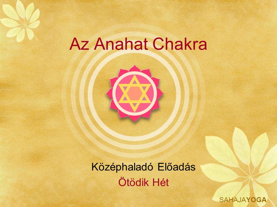 Az Anahat Chakra Középhaladó Előadás Ötödik Hét
