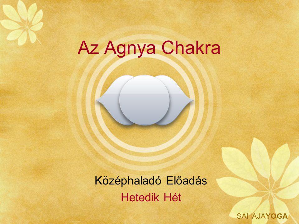 Az Agnya Chakra Középhaladó Előadás Hetedik Hét