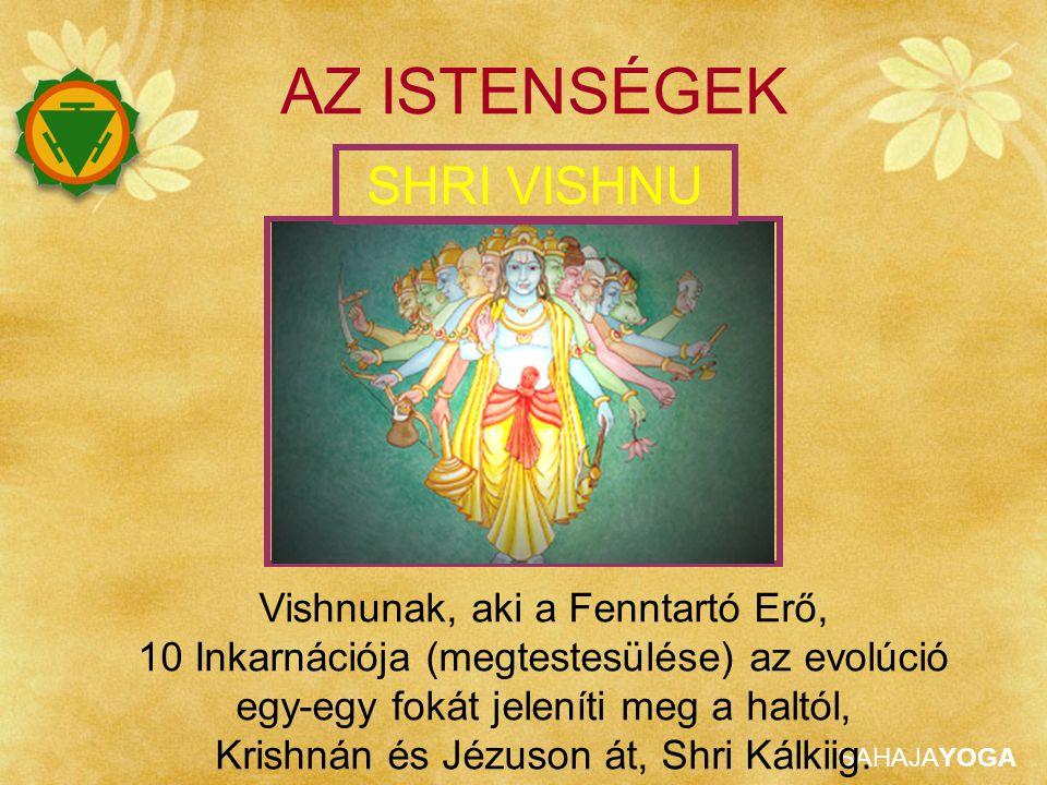 AZ ISTENSÉGEK SHRI VISHNU Vishnunak, aki a Fenntartó Erő,
