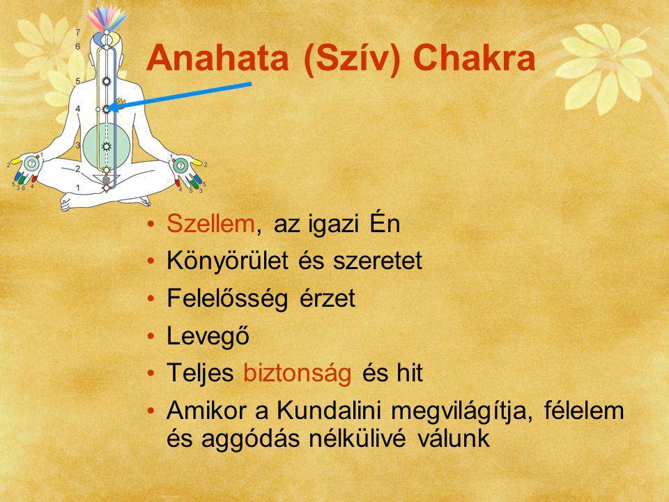 Anahata (Szív) Chakra Szellem, az igazi Én Könyörület és szeretet