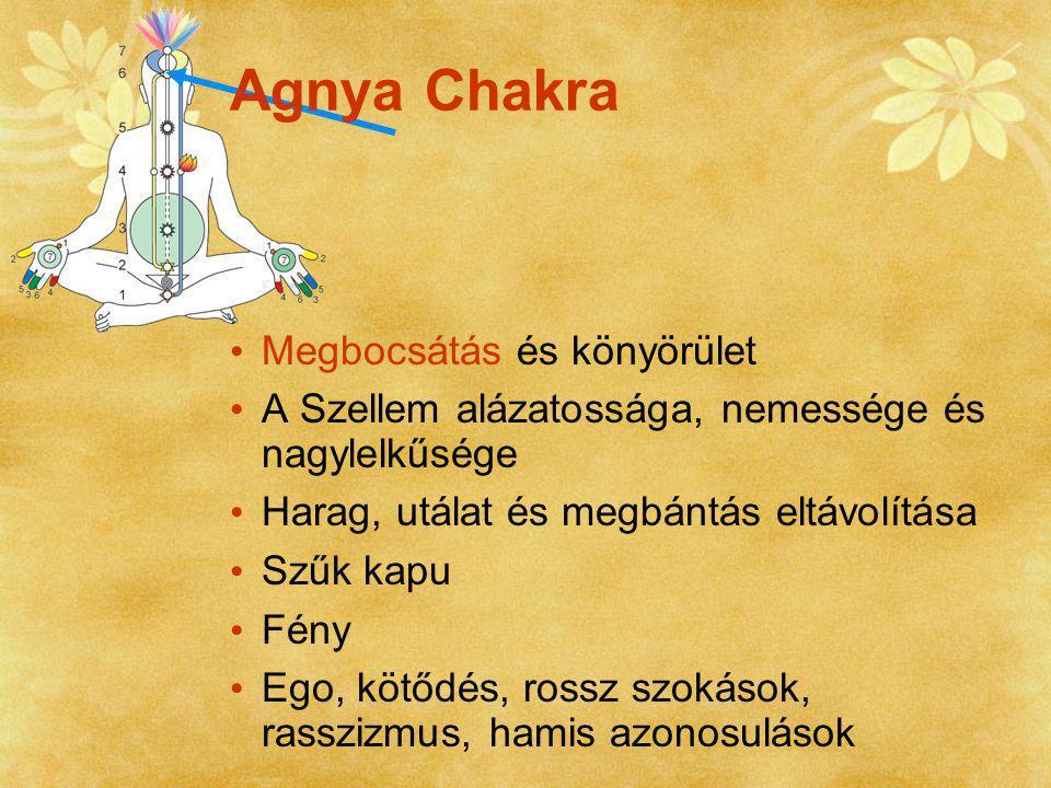 Agnya Chakra Megbocsátás és könyörület