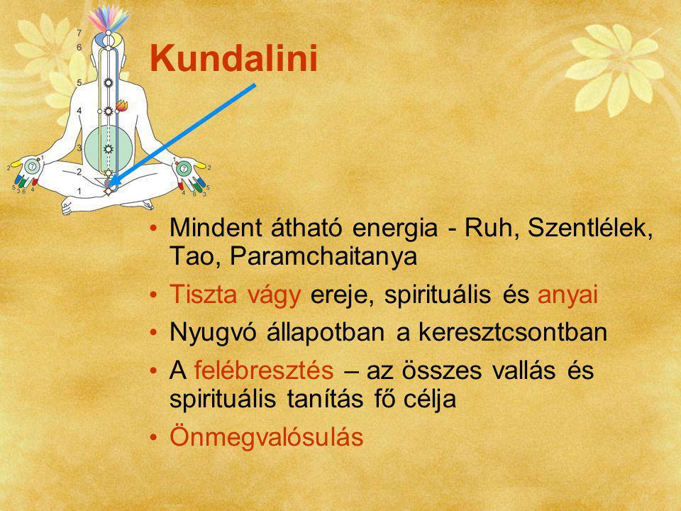 Kundalini Mindent átható energia - Ruh, Szentlélek, Tao, Paramchaitanya. Tiszta vágy ereje, spirituális és anyai.