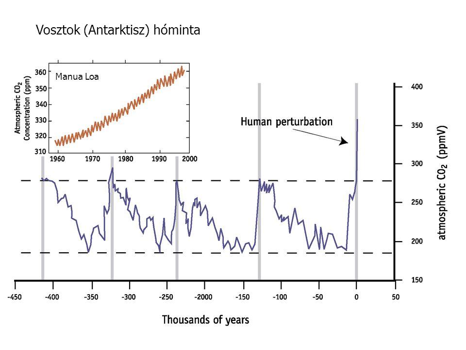 Vosztok (Antarktisz) hóminta