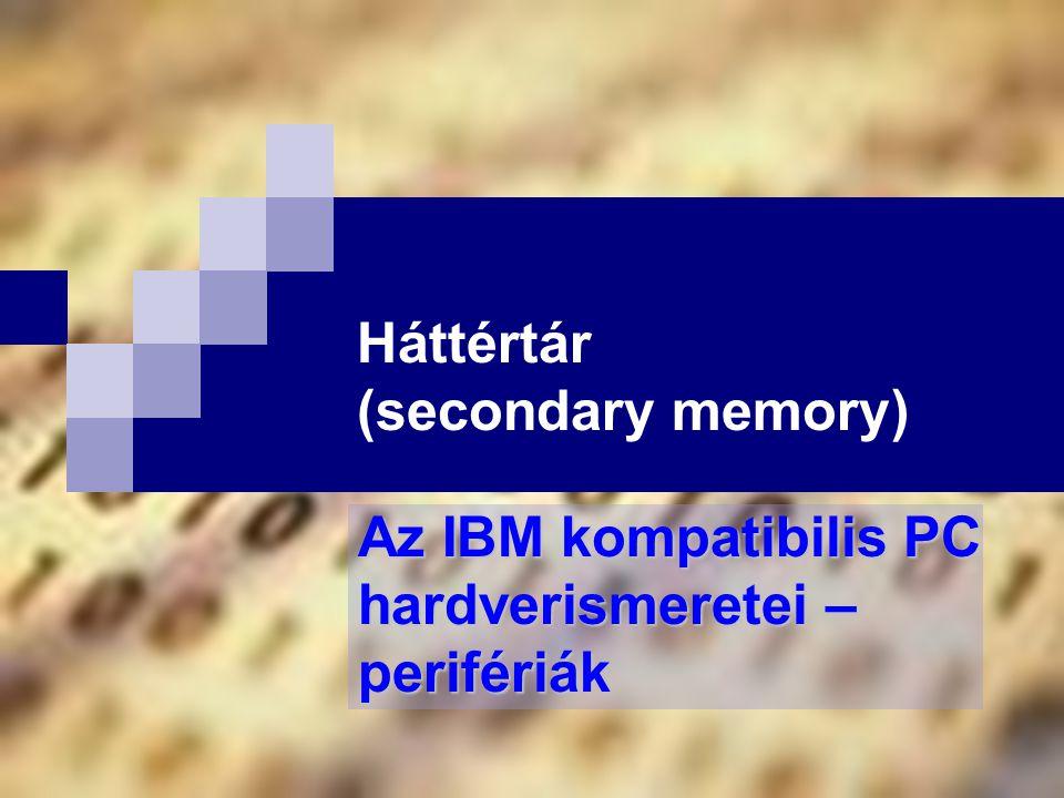Háttértár (secondary memory)