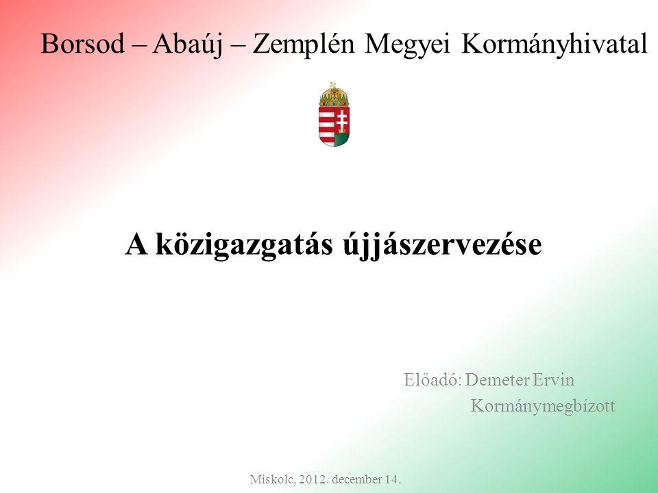 Borsod – Abaúj – Zemplén Megyei Kormányhivatal