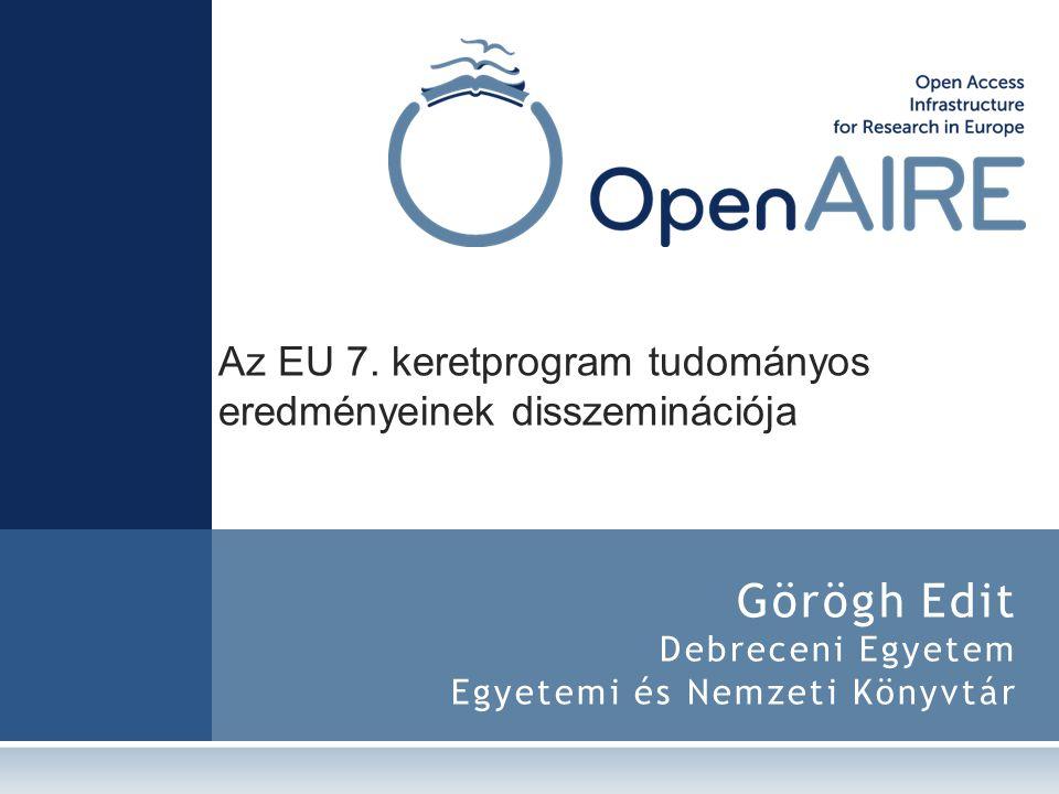 Görögh Edit Debreceni Egyetem Egyetemi és Nemzeti Könyvtár
