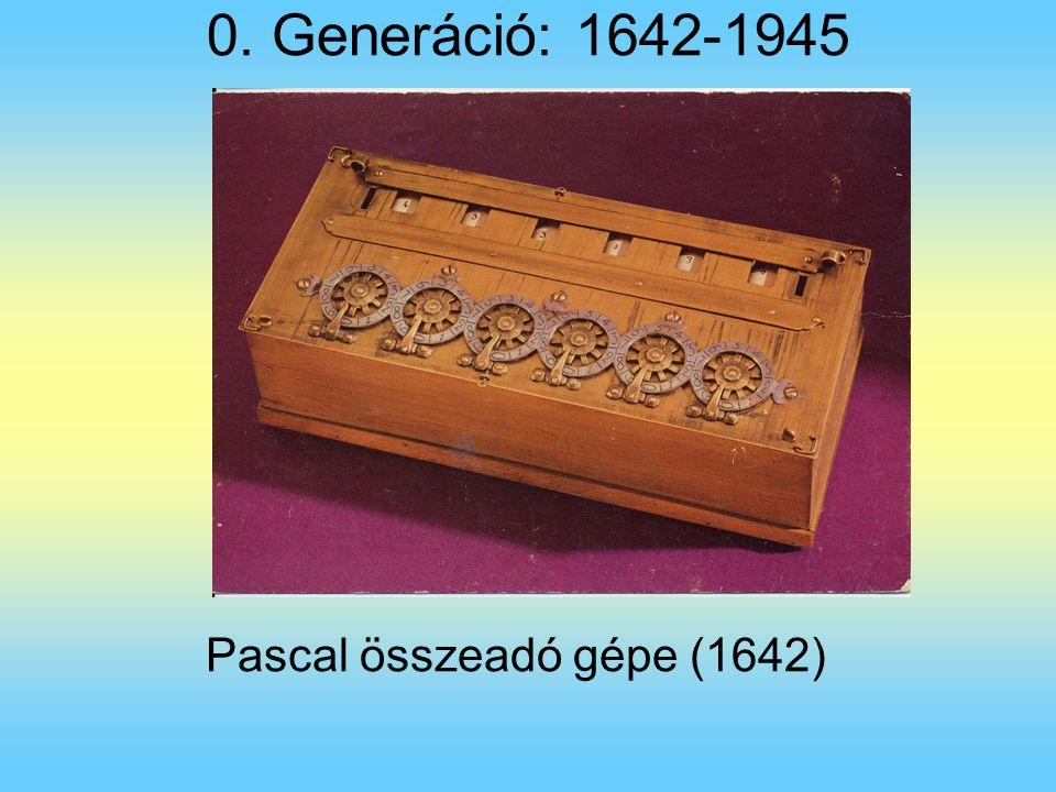 Pascal összeadó gépe (1642)