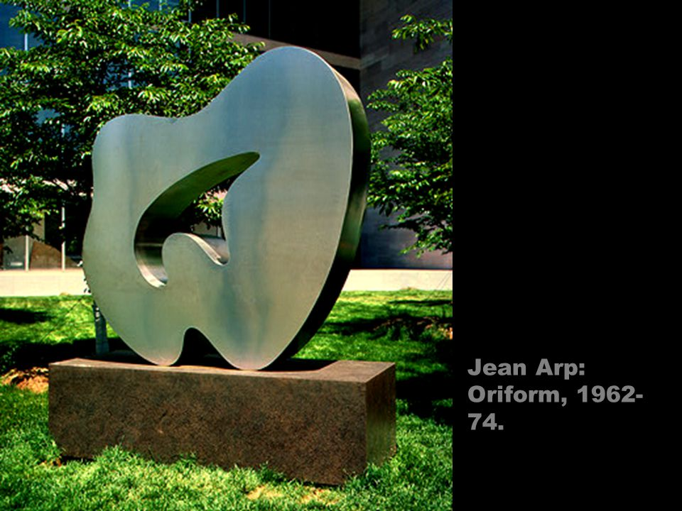 Jean Arp: Oriform, 1962-74.