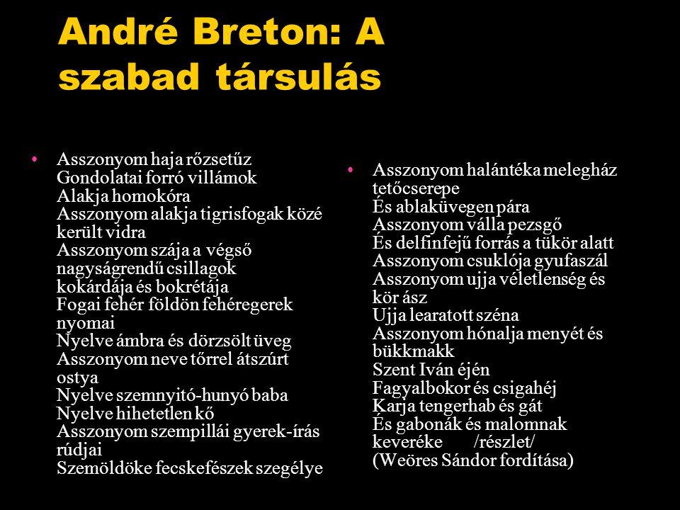 André Breton: A szabad társulás