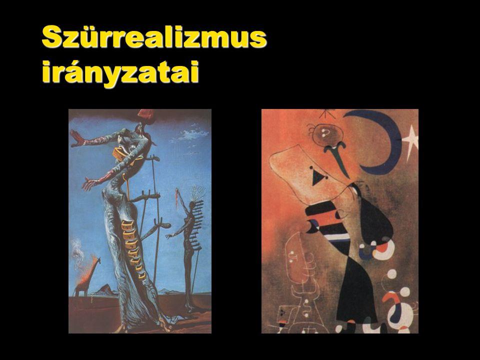 Szürrealizmus irányzatai