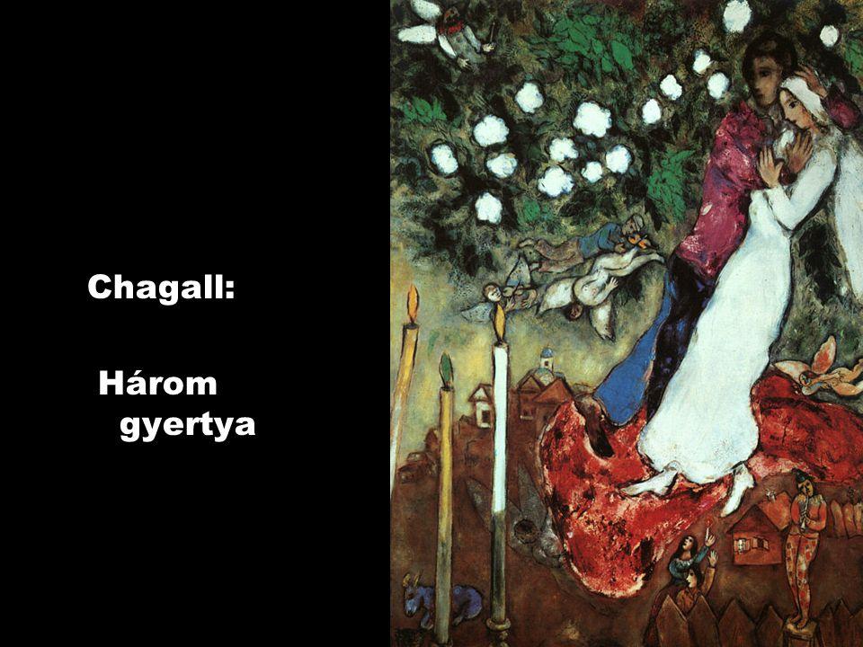 Chagall: Három gyertya