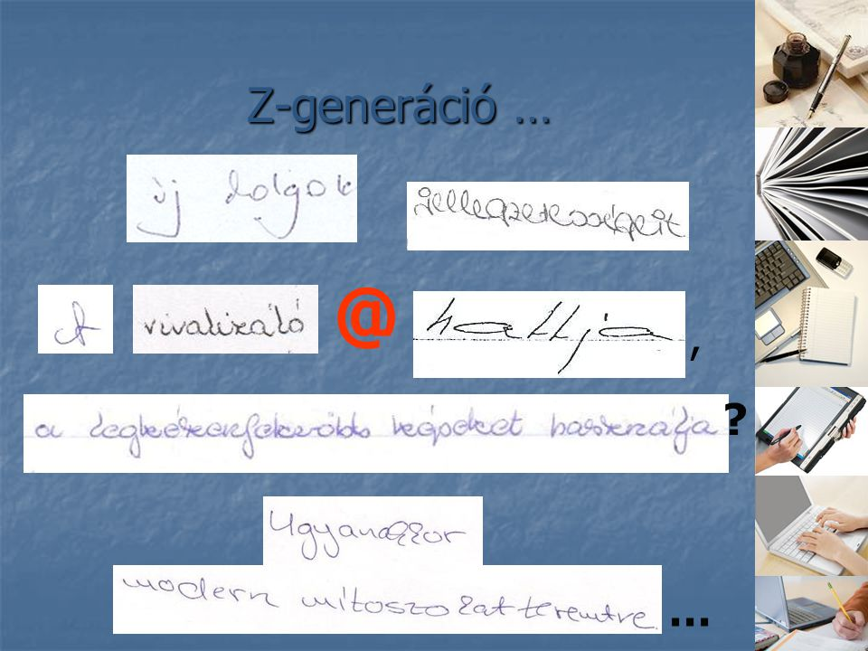 Z-generáció … @ , …