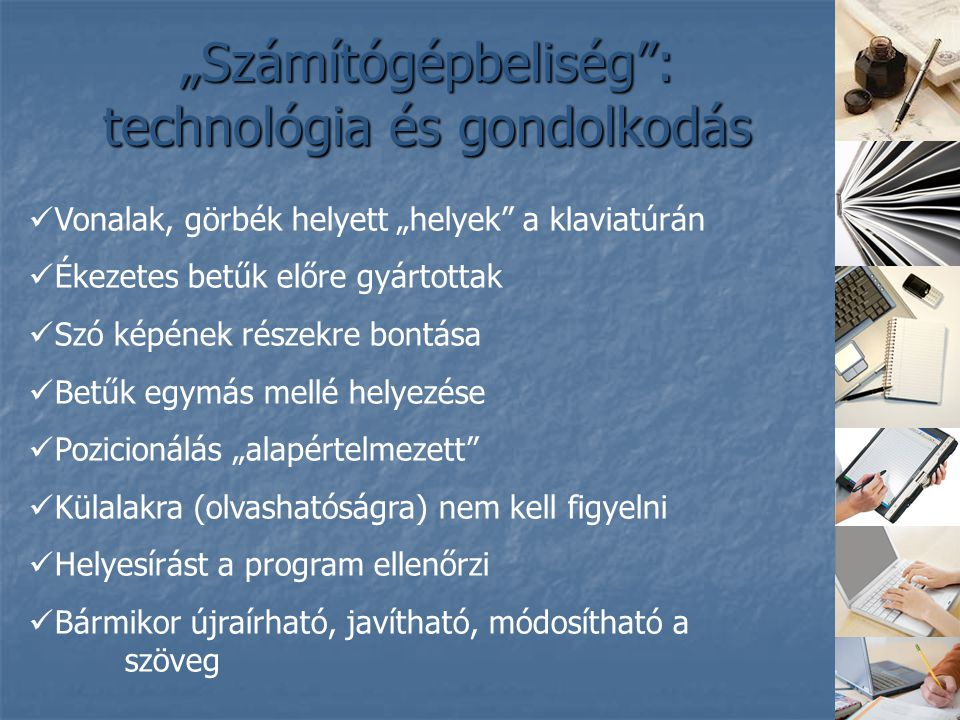 """""""Számítógépbeliség : technológia és gondolkodás"""